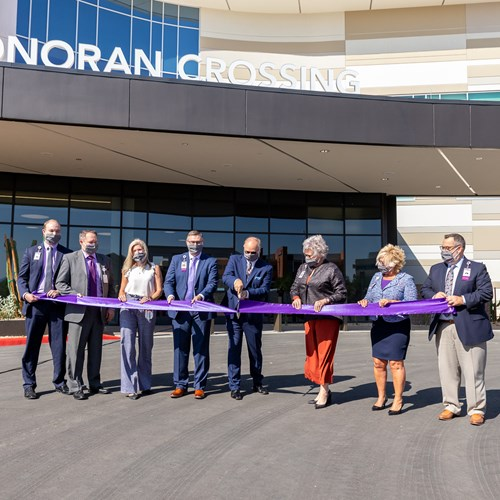 HonorHealth volunteers make an impact with additional $50,000 grant to Sonoran Crossing Medical Center